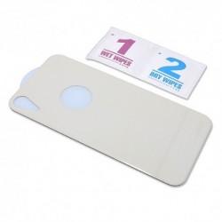 Zaštitno staklo za iPhone XR/11 (zakrivljeno 5D) pun lepak zadnje - bela
