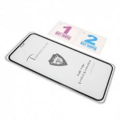 Zaštitno staklo za iPhone XS Max/11 Pro Max (zakrivljeno 5D) pun lepak - crna