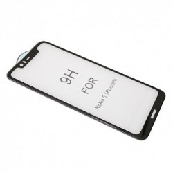 Zaštitno staklo za Nokia 5.1 Plus/X5 (zakrivljeno 5D) pun lepak - crna