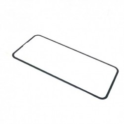 Zaštitno staklo za iPhone XR/11 (zakrivljeno 3D) Baseus Crack resistant - Crna