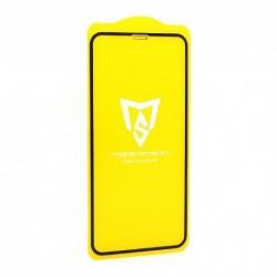 Zaštitno staklo za iPhone XR/11 (2,5D) MonsterSkin Pro - crna