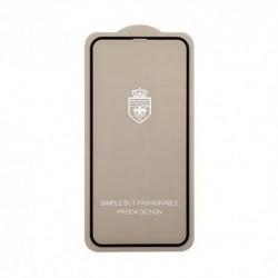 Zaštitno staklo za iPhone X/XS/11 Pro (zakrivljeno 3D) pun lepak Remax - crna