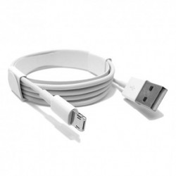 USB data kabal za Android micro/iPhone lightning (2u1) CExtreme (1m) - bela