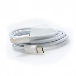USB data kabal za Android type C na iPhone lightning CExtreme (1m) - bela