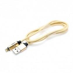 USB data kabal za iPhone lightning + slušalice Multi-Function (1m) - zlatna