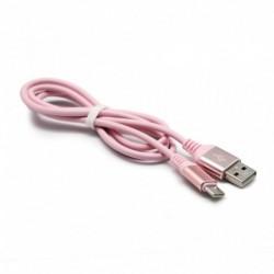 USB data kabal za Android type C Fashion (1m) - roza