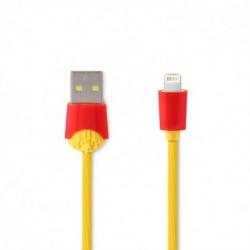 USB data kabal za iPhone lightning Remax Chips Rc-114I (1m) - Žuta