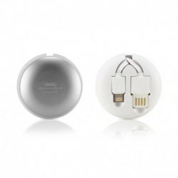 USB data kabal za Android micro/iPhone lightning (2u1) Remax Cutebaby Rc-099T (1m) - bela