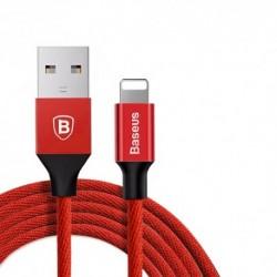 USB data kabal za iPhone lightning Baseus yiven (1,2m) - crvena