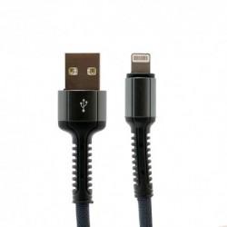 USB data kabal za iPhone lightning Ldnio Ls64 (2m) - siva
