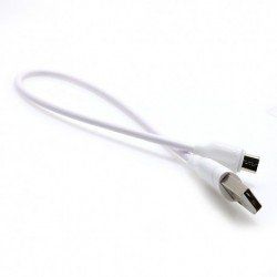 USB data kabal za Android micro Ldnio Ls38 (0,3m) - bela