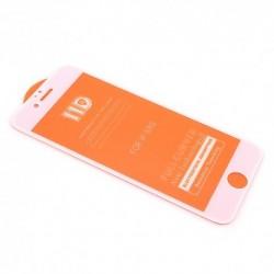 Zaštitno staklo za iPhone 6/6s (zakrivljeno 11D) pun lepak - bela