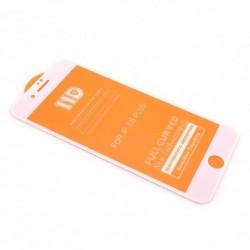 Zaštitno staklo za iPhone 7 Plus/8 Plus (zakrivljeno 11D) pun lepak - bela