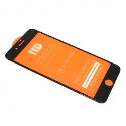 Zaštitno staklo za iPhone 7 Plus/8 Plus (zakrivljeno 11D) pun lepak - crna
