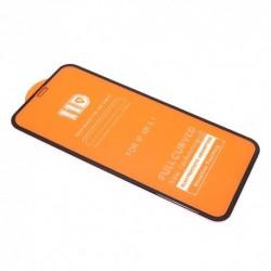 Zaštitno staklo za iPhone XR/11 (zakrivljeno 11D) pun lepak - crna