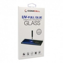 Zaštitno staklo za Huawei P30 Pro (zakrivljeno 3D) UV pun lepak bez lampe - Providna