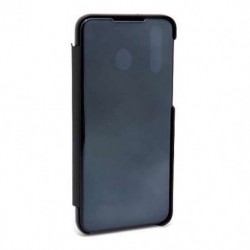 Futrola za Samsung Galaxy M30/A40s preklop bez magneta bez prozora Clear view - crna