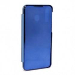 Futrola za Samsung Galaxy M30/A40s preklop bez magneta bez prozora Clear view - teget