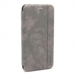 Futrola za iPhone XR preklop bez magneta bez prozora iHave gentleman - siva