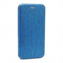 Futrola za iPhone XR preklop bez magneta bez prozora iHave glitter - plava
