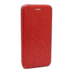 Futrola za Nokia 3.1 Plus preklop bez magneta bez prozora iHave glitter - crvena