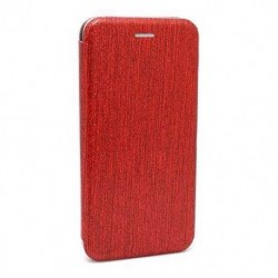 Futrola za Nokia 5.1 Plus/X5 preklop bez magneta bez prozora iHave glitter - crvena