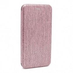 Futrola za Nokia 5.1 Plus/X5 preklop bez magneta bez prozora iHave glitter - roza