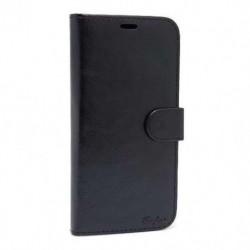 Futrola za Huawei P20 Pro preklop bez magneta bez prozora Leather - crna