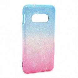 Futrola za Samsung Galaxy S10e leđa Double glitter - plavo-pink