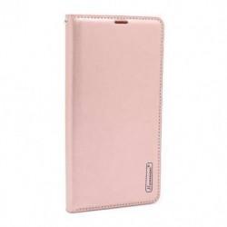 Futrola za Xiaomi Mi 8 preklop bez magneta bez prozora Hanman - svetlo roza