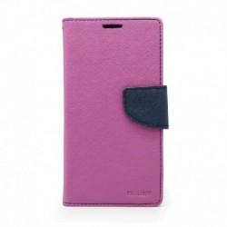 Futrola za Nokia 3.1 Plus preklop sa magnetom bez prozora Mercury - ljubičasta