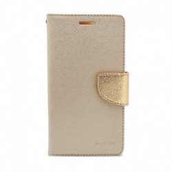 Futrola za Nokia 5.1 Plus/X5 preklop sa magnetom bez prozora Mercury - zlatna