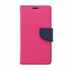 Futrola za Samsung Galaxy A7 (2018) preklop sa magnetom bez prozora Mercury - pink