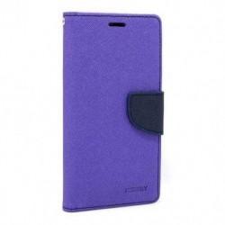 Futrola za Nokia 5.1 Plus/X5 preklop sa magnetom bez prozora Mercury - ljubičasta