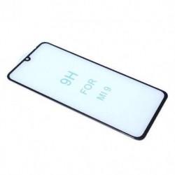 Zaštitno staklo za Xiaomi Mi 9 (zakrivljeno 5D) pun lepak - crna