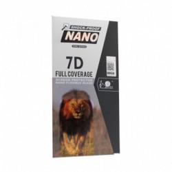 Zaštitno staklo za Nokia 7.1 Plus/8.1/X7 (zakrivljeno 7D) Nano G - crna
