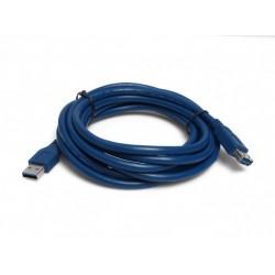 Kabal USB 3.0 muški na ženski 3m - plava