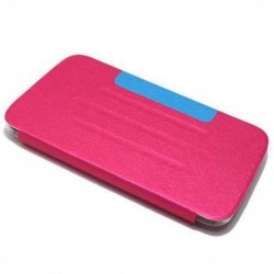 Futrola za Samsung Galaxy Tab 3 7.0 preklop bez magneta bez prozora Cover - model 3 - pink