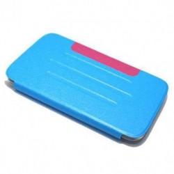 Futrola za Samsung Galaxy Tab 3 7.0 preklop bez magneta bez prozora Cover - model 3 - plava