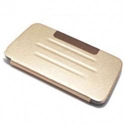 Futrola za Samsung Galaxy Tab 3 7.0 preklop bez magneta bez prozora Cover - model 3 - zlatna
