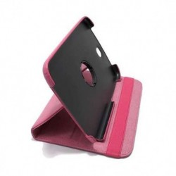 Futrola za Samsung Galaxy Note 8.0 preklop bez magneta bez prozora Rotirajuća - pink