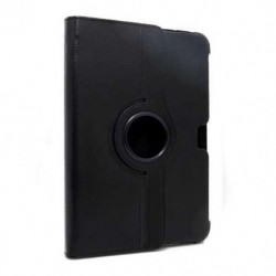 Futrola za Samsung Galaxy Tab 10.1/Tab 2 10.1 preklop bez magneta bez prozora Rotirajuća - crna
