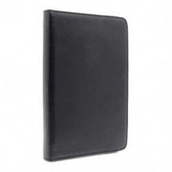 Futrola za Samsung Galaxy Tab 2 7.0 preklop bez magneta bez prozora Rotirajuća - crna