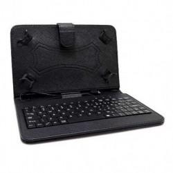 """Futrola za univerzalna za tablet 7"""" preklop sa magnetom bez prozora + tastatura - crna"""
