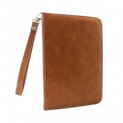 Futrola za iPad 2/3/4 preklop sa magnetom bez prozora Leather - svetlo braon