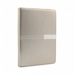 "Futrola za univerzalna za tablet 7"" preklop bez magneta bez prozora rotirajuća Teracell elegant - zlatna"