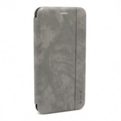 Futrola za Nokia 4.2 preklop bez magneta bez prozora iHave Gentleman - siva