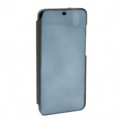 Futrola za Xiaomi Redmi 7A preklop bez magneta bez prozora Clear view - crna