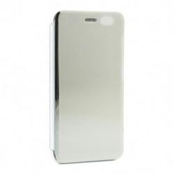 Futrola za Xiaomi Redmi Go preklop bez magneta bez prozora Clear view - srebrna