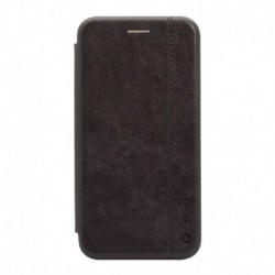 Futrola za iPhone 11 preklop bez magneta bez prozora Teracell leather - crna